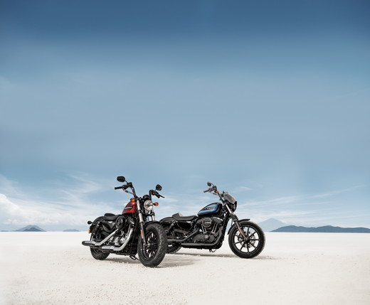 Harley-Davidson laiž klajā Iron 1200 un Forty-Eight Special